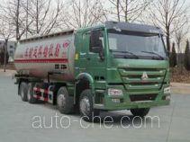 T-King Ouling ZB5317GFLZZ low-density bulk powder transport tank truck