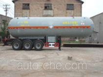 鲁征牌ZBR9402GYQ型液化气体运输半挂车
