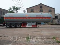 鲁征牌ZBR9403GYQ型液化气体运输半挂车