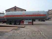 鲁征牌ZBR9404GYQ型液化气体运输半挂车