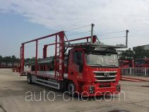 Huajun ZCZ5180TCLCQG car transport truck