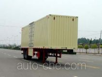 Huajun ZCZ9349XXY box body van trailer