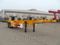 Huajun ZCZ9350TJZHJE container transport trailer