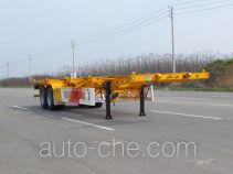 Huajun ZCZ9350TWYHJF каркасный полуприцеп контейнеровоз для контейнеров-цистерн с опасным грузом