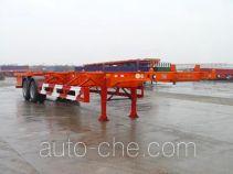 华骏牌ZCZ9353TJZ型集装箱半挂牵引车