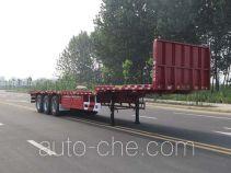 Huajun ZCZ9400TPBHJF flatbed trailer