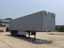 Huajun ZCZ9400XYKHJG полуприцеп фургон с подъемными бортами (фургон-бабочка)