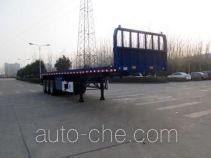 华骏牌ZCZ9400ZZXPHJF型平板自卸半挂车