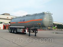 Huajun ZCZ9402GFWHJG corrosive materials transport tank trailer