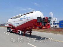 Huajun ZCZ9403GFLHJC low-density bulk powder transport trailer