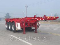 Huajun ZCZ9405TWYHJE каркасный полуприцеп контейнеровоз для контейнеров-цистерн с опасным грузом