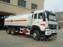Luwang ZD5252GJY fuel tank truck