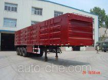 陆王牌ZD9402XXY型厢式运输半挂车