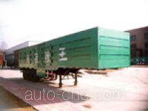陆王牌ZD9405XXY型厢式运输半挂车