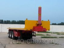 Ruyuan ZDY9401ZZXP flatbed dump trailer