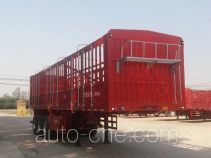 儒源牌ZDY9402CCY型仓栅式运输半挂车