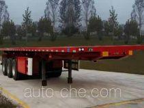 儒源牌ZDY9402ZZXP型平板自卸半挂车