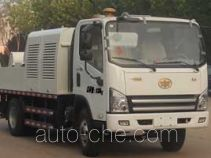 Hailong Jite ZHL5080THB truck mounted concrete pump
