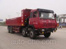 中集牌ZJV3315HJSAA型自卸汽车