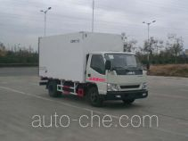 CIMC ZJV5047XBWSD insulated box van truck