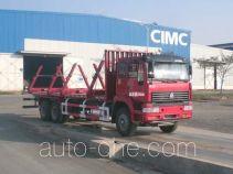 中集牌ZJV5250TYMSD型木材运输车