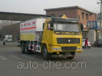 中集牌ZJV5251THZSD型现场混装重铵油炸药车