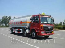 CIMC ZJV5253GHY01TH chemical liquid tank truck