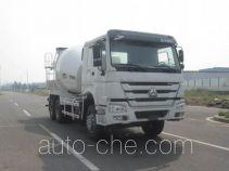 中集牌ZJV5257GJBLYZZ7型混凝土搅拌运输车
