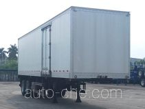 CIMC ZJV9270XXYSZ box body van trailer