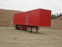 CIMC ZJV9272XXY box body van trailer