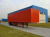 CIMC ZJV9274XXY box body van trailer