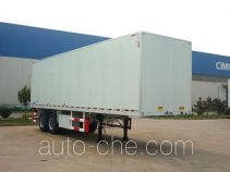 CIMC ZJV9275XXYQD box body van trailer