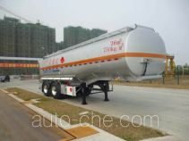 CIMC ZJV9351GRYSZ flammable liquid tank trailer
