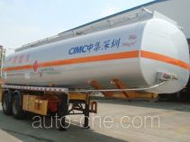 CIMC ZJV9352GRYSZ flammable liquid tank trailer