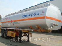 CIMC ZJV9352GRYSZ flammable liquid tank trailer