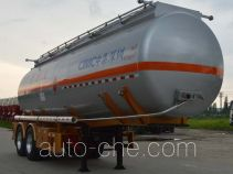 CIMC ZJV9353GRYSZ flammable liquid tank trailer