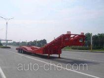 中集牌ZJV9370TSCLTH型商用车辆运输半挂车