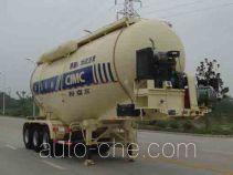 CIMC ZJV9400GFLRJB medium density bulk powder transport trailer