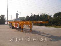 中集牌ZJV9400TJZTH型集装箱运输半挂车