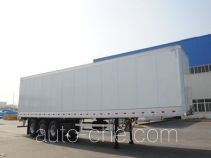 CIMC ZJV9400XXYQL box body van trailer