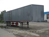 CIMC ZJV9400XXYYK box body van trailer