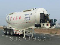 CIMC ZJV9401GFLLYD medium density bulk powder transport trailer