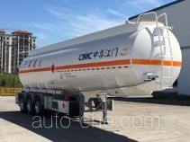 CIMC flammable liquid aluminum tank trailer