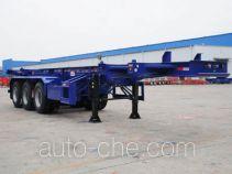 中集牌ZJV9401TJZSZ型集装箱运输半挂车