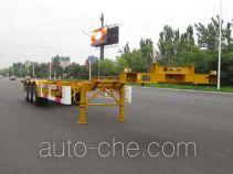 中集牌ZJV9401TJZYK01型集装箱运输半挂车