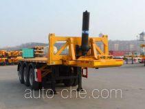 CIMC ZJV9401ZZXPQD flatbed dump trailer