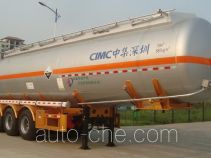 CIMC ZJV9402GFWSZ corrosive materials transport tank trailer