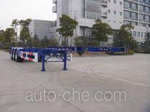 中集牌ZJV9402TJZA型集装箱运输半挂车