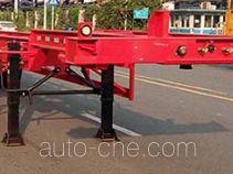 中集牌ZJV9402TJZSZA型集装箱运输半挂车