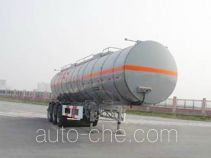 CIMC ZJV9403GHYTH chemical liquid tank trailer